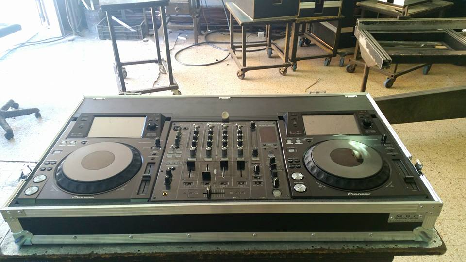 הוראות חדשות פלטות די ג'יי, ציוד דיג'יי לתקליטן המקצועי והמתחיל - מוטי בוקס QX-76